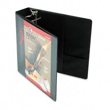 "Recycled Clearvue Easyopen Vinyl D-Ring Presentation Binder, 2"" Capacity"