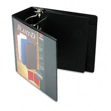 Clearvue Premium Slant-D Vinyl Presentation Binder, 5in Capacity