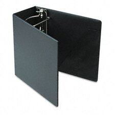 Heavyweight Vinyl Slant-D Ring Binder w/Finger Hole, 5in Cap