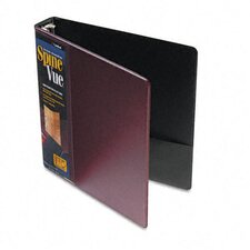 "<strong>Cardinal Brands, Inc</strong> Spinevue Round Ring View Binder, 1.5"" Capacity"