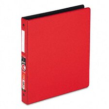 "Easyopen Locking Round Ring Binder, 11 X 8-1/2, 1"" Capacity"