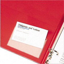 <strong>Cardinal Brands, Inc</strong> Top Load Holdit! Poly Business Card Holders (10/Pack)