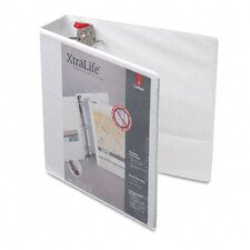 Clearvue Xtralife Slant-D Presentation Binder, 1in Capacity
