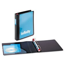 "Infinity Clearvue Locking Slant-D Ring Binder, 1.5"" Capacity"