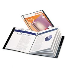 <strong>Cardinal Brands, Inc</strong> Showfile Display Book with Custom Cover Pocket, 24 Letter-Size Sleeves