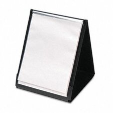 <strong>Cardinal Brands, Inc</strong> Showfile Vertical Display Easel, 20 Letter-Size Sleeves