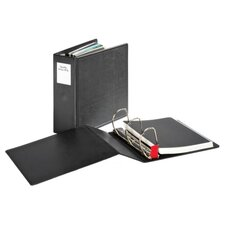 "Slant-D Ring Binder, Heavy-Duty, 4"" Capacity, Black"