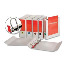 "Easyopen Freestand Binder with Locking Slant-D Rings, 4"" Capacity"