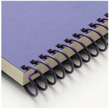 "<strong>Carl Manufacturing</strong> Carla Craft 12"" 9mm Binding System Spiral Ring in Royal Purple"