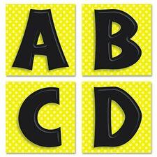 45 Pieces Quick Stick Letters Set, 45 Pieces