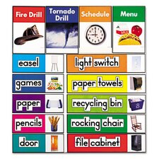 Quick Stick™ Bulletin Board Set, Class Labels