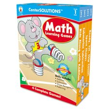 Math Learning Games, 4 Game Boards, 2-4 Players, Grade 1