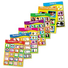<strong>Carson-Dellosa Publishing</strong> Early Learning Chartlet Set