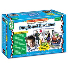 <strong>Carson-Dellosa Publishing</strong> Photographic Learning Cards Boxed Set, People and Emotions, Grades K-12