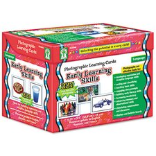 <strong>Carson-Dellosa Publishing</strong> Photographic Learning Cards Boxed Set, Early Learning Skills, Grades K-12