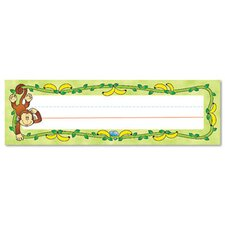 Monkeys Desk Nameplates (Set of 36)