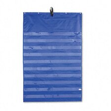 Original Pocket Chart with 10 Clear Pockets, Grommets