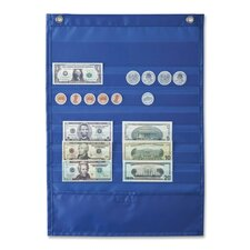"Deluxe Money Pocket Chart, 12""x17"", Multi Colored"