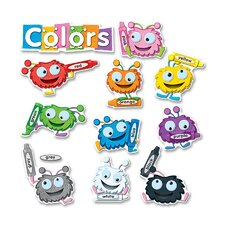 Color Critters Bulletin Board Set