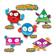 Super Shapes Bulletin Board Set