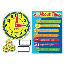 <strong>Carson-Dellosa Publishing</strong> Clock Bulletin Board Set