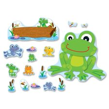 Funky Frog Bulletin Board Set