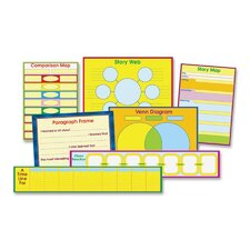 Graphic Organizer Chart Set