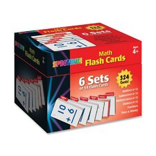 Math Flash Card Set