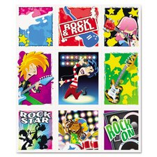 Rock Stars Prize Stickers (Pack of 216)
