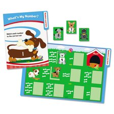 Math File Folder Games Book for Kindergarten