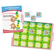 Math File Folder Games Book for Grade 3
