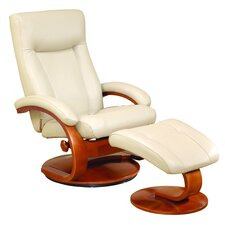 <strong>Mac Motion</strong> Oslo 54 Series Ergonomic Recliner and Ottoman