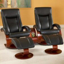 <strong>Mac Motion</strong> Oslo 54 Home Theater Recliner (Set of 2)