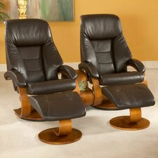<strong>Mac Motion</strong> Oslo 58 Home Theater Recliner (Set of 2)