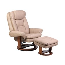 <strong>Mac Motion</strong> Swivel Recliner and Ottoman
