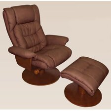 Oslo Vinci  Recliner and Ottoman