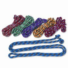 <strong>Champion Sports</strong> Braided Nylon Jump Ropes (Set of 6)