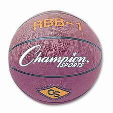 <strong>Champion Sports</strong> Rubber Sports Ball for Basketball, No. 7, Official Size