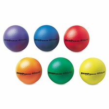 "Rhino Skin Ball Sets, 7"", Blue, Green,Orange, Purple, Red,Yellow (Set of 6)"