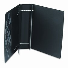 Varicap6 Expandable 1 To 6 Post Binder, 8-1/2 x 11, Black