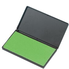 "Foam Ink Pad, 2-3/4"" x 4-1/4"", Nontoxic, Reinkable, Green"
