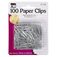 #1 Paper Clip 100 Count