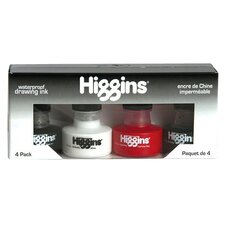<strong>Higgins</strong> Waterproof Drawing Ink Set (Set of 4)