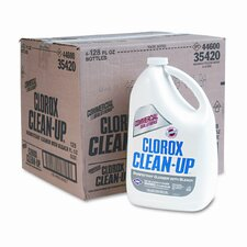 Clean-Up Cleaner with Bleach, 128 Oz Bottle, 4/Carton