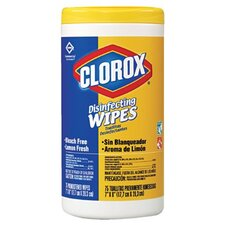 <strong>Clorox Company</strong> Clorox - Clorox Disinfectant Wipes Clorox Disinfecting Wipes Lemon Frs 35 Count: 158-01594 - clorox disinfecting wipes lemon frs 35 count