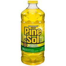 48 Oz Pine-Sol Lemon Fresh Liquid Cleanser (Set of 8)