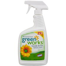 30 Oz Green Works Naturally Derived Bathroom Cleaner