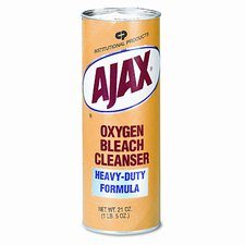 Ajax Oxygen Bleach Powder Cleanser, 21 Oz. Container