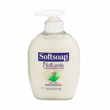 <strong>Colgate Palmolive</strong> Softsoap Moisturizing Hand Soap with Aloe, Liquid, 7.5 Oz Pump, 12/Carton