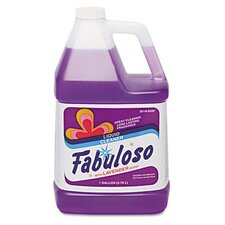 <strong>Colgate Palmolive</strong> Fabuloso All-Purpose Cleaner, Lavender Scent, 1 Gal Bottle, 4/Carton
